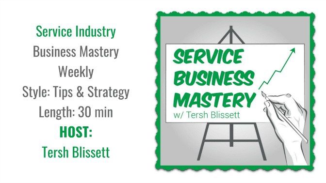 Service Business Mastery, Angela Brown's Top 10 Podcasts, Savvy Cleaner Recommended