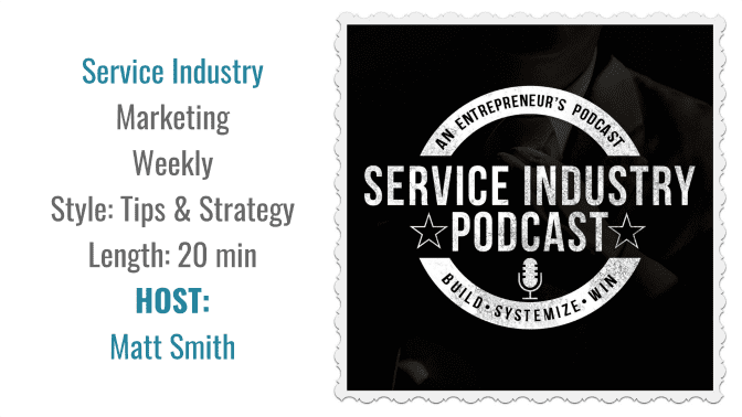 Service Industry Podcast - Angela Brown's Top 10 Podcasts, Savvy Cleaner Recommended