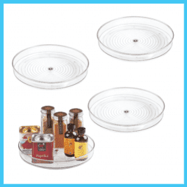 Spice Rack Lazy Susan Turntable