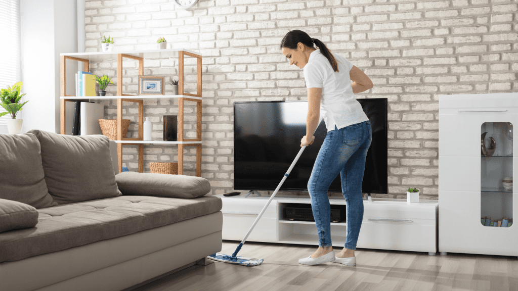 Spin Mop vs. Steam Mop for Hardwood Floors Featured Image