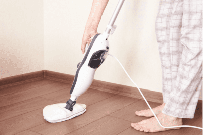 Spin Mop vs. a Steam Mop for Hardwood Floors, Using a Steam Mop on Wood Floor
