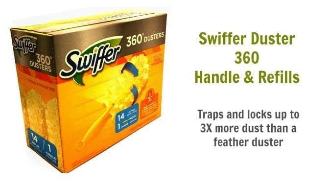 Swiffer Duster 360 Handle and Refills, Angela Brown's Top 10 Dusters