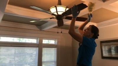 Swiffer Duster 360 Product Review Dusting Ceiling Fan