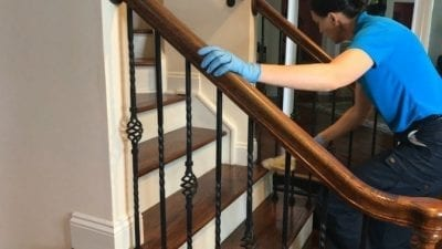 Swiffer Duster 360 Product Review Stair Railings
