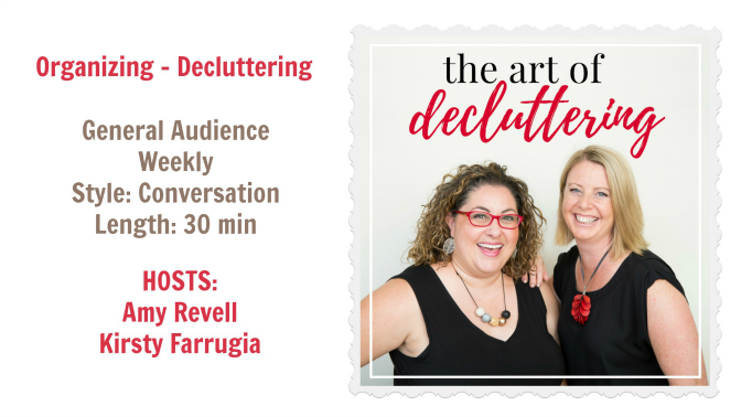 The Art of Decluttering Podcast, Angela Brown's Top 10 Podcasts for 2019