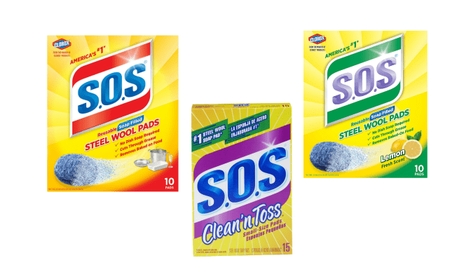 The Clorox Company, SOS Steel Wool Pads, Variety, Angela Browns Top 10 Sponges