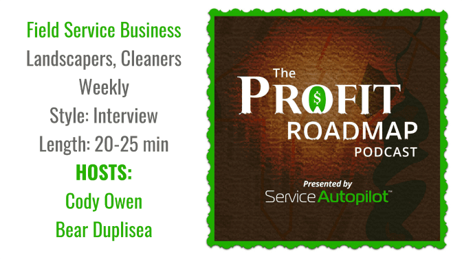 The Profit Roadmap, Angela Brown's Top 10 Podcasts, Savvy Cleaner Recommended
