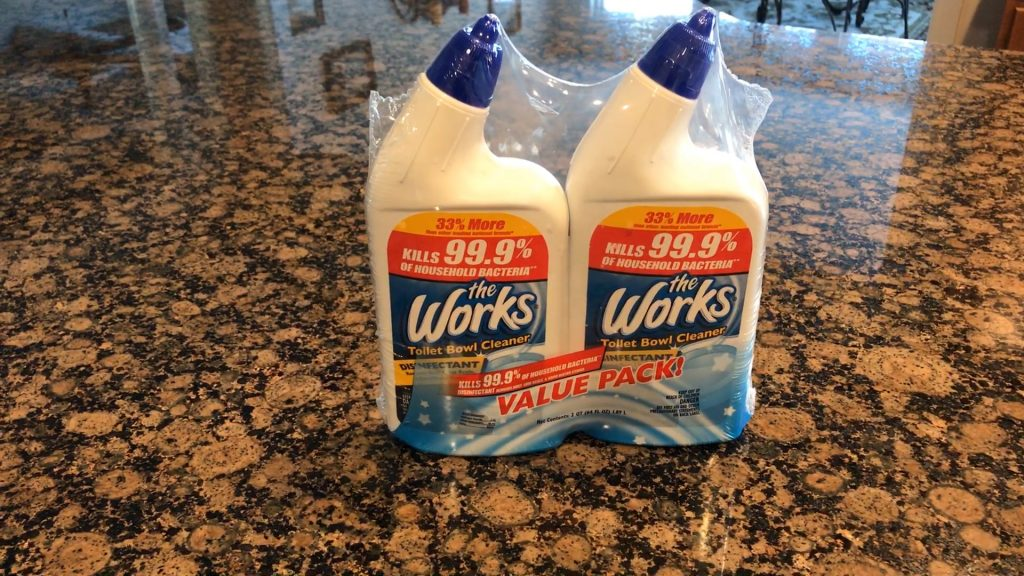 The Works Toilet Bowl Cleaner - Featured Image
