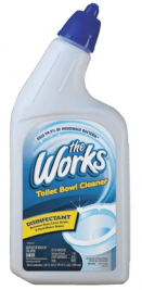 The Works Toilet Bowl Cleaner, The Works Single