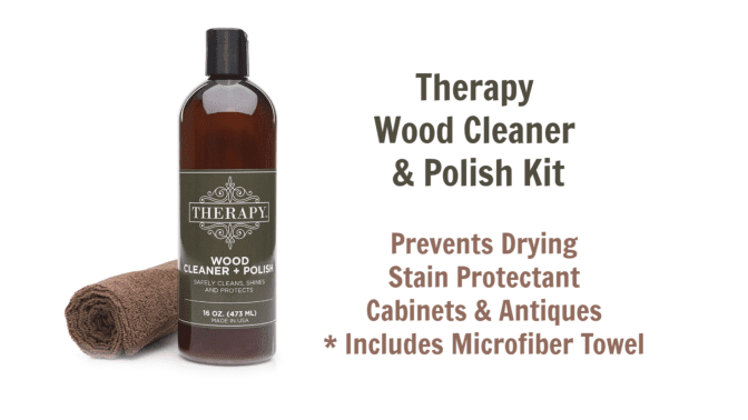 Therapy Wood Cleaner Polish Kit, Angela Brown's Top 10 Furniture Polish