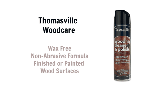 Thomasville Woodcare Cleaner and Polish, Angela Brown's Top 10 Furniture Polish