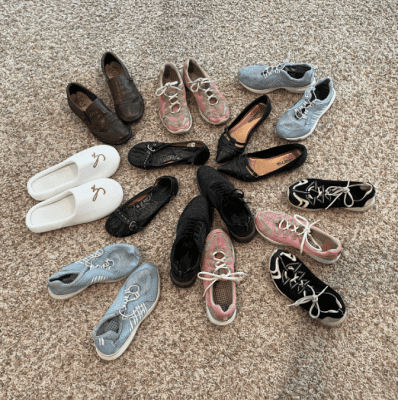 Throwing Out Half My Shoes, Shoes 8