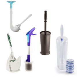 Toilet Brushes Products for House Cleaners