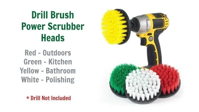 Useful Products Drill Brush Power Scrubber, Angela Brown's Top 10 Scrub Brushes