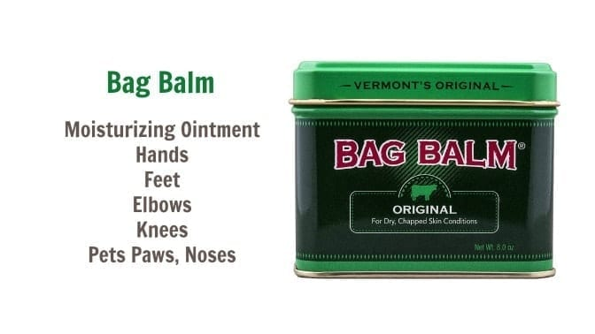 Vermont's Orignal Bag Balm, Angela Brown's Top 10 Repair Creams, Savvy Cleaner Recommended.