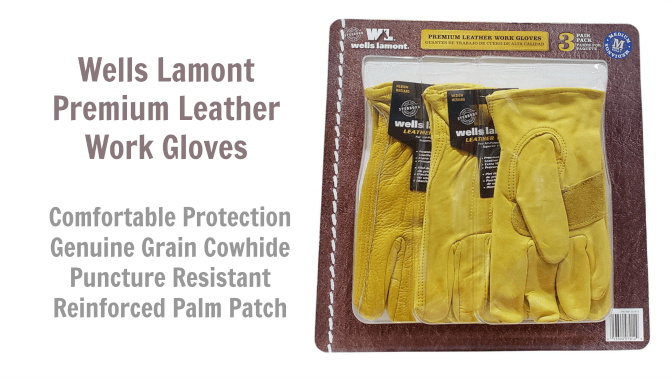 Wells Lamont Heavy Duty Cowhide Leather Gloves, Angela Brown's Top 10 Gloves for House Cleaners